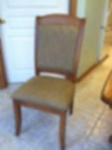 trailway bavaria table wengerd master upholstered chair seely stain red oak OCS