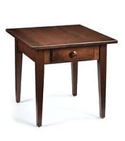 Shaker End Table | Brown Maple in Coffee OCS226 | 22in W x 24in D x 24in H | The Amish Home | Amish Furniture at the Pittsburgh Mills