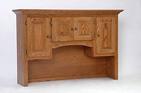 Configure-Your-Own Hutch | Oak in Fruitwood OCS102 | 60in W x 15in D x 40in H | The Amish Home | Amish Furniture at the Pittsburgh Mills