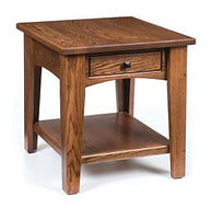 Ashford End Table | Oak in Medium OCS110 | 22in W x 24in D x 24in H | The Amish Home | Amish Furniture at the Pittsburgh Mills