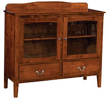 Millcreek Server|Brown Maple in Boston OCS111|48 1/2in W x 17 1/4in D x 41in H|The Amish Home|Amish Furniture at the Pittsburgh Mills