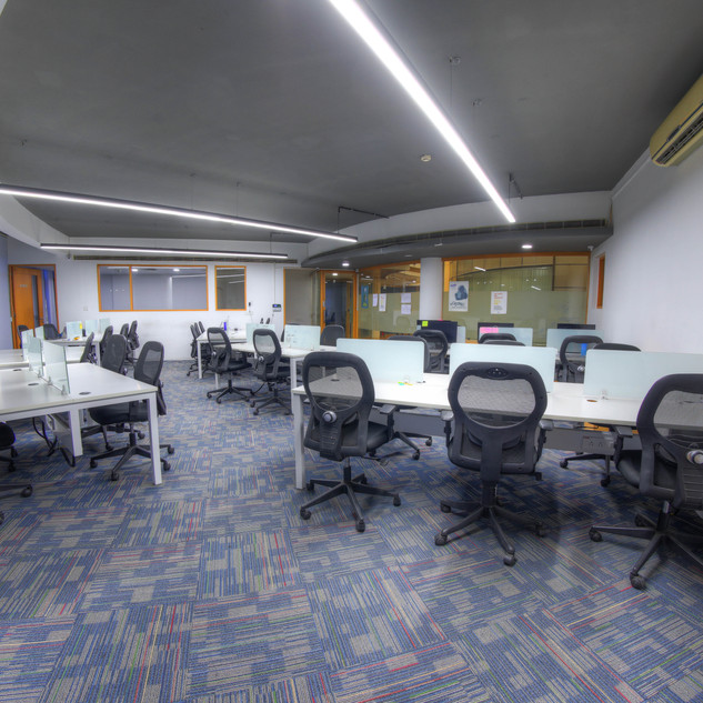 Covid compliance - Alternative chairs have been removed