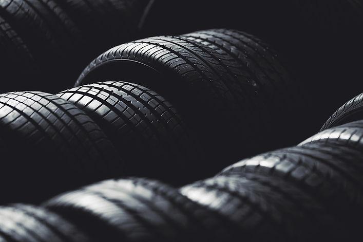 Pilha de pneus