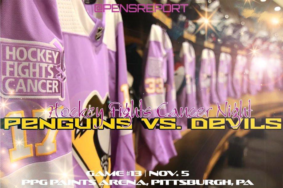 Penguins vs. Devils