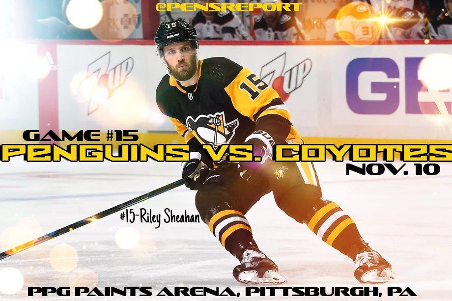 Penguins vs. Coyotes