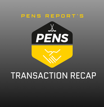 Pens Transaction Recap: May 15-June 7, 2019
