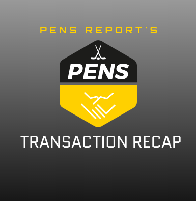 Pens Transaction Recap
