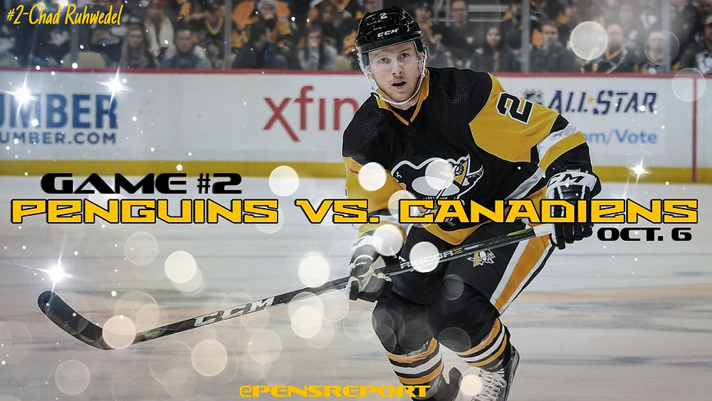 Penguins vs. Canadiens