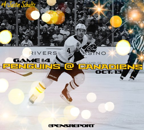 Penguins at Canadiens