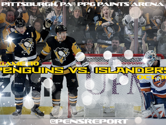 Pens Pre-Game #10: Penguins vs. Islanders- Back Home For A Home & Home Series