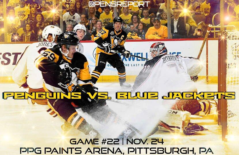 Penguins vs. Blue JAckets