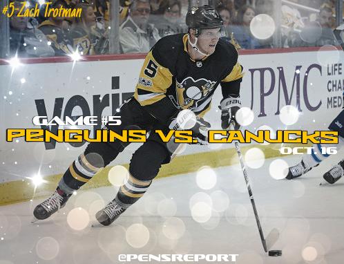 Penguins vs. Canucks