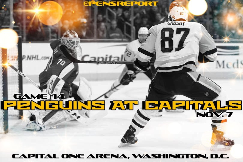 Penguins at Capitals