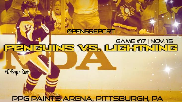 Penguins vs. Lightning