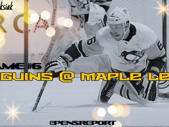 Pens Pre-Game #6: Penguins at Maple Leafs- Pens Need To Turn A New Leaf