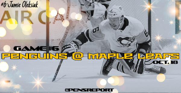 Penguins at Maple Leafs