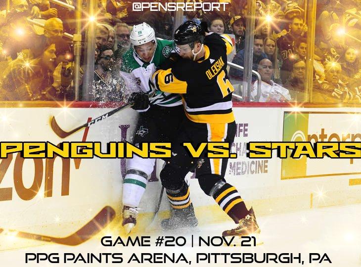Penguins vs. Stars