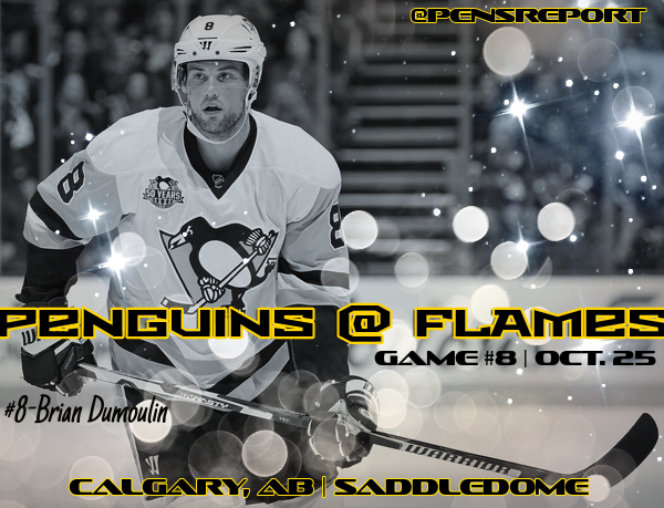 Penguins at Flames