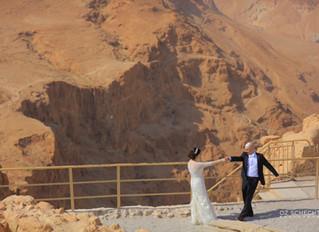 Desert Wedding on Masada