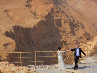 Desert Wedding on Masada