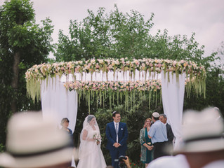 An English Garden Wedding