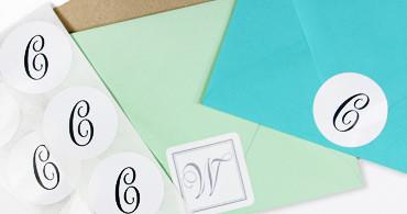 Invitation envelope sealers