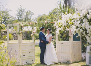 English Garden Wedding in Israel