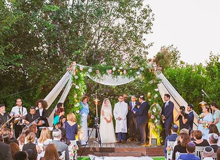 Summer Garden Wedding in Israel