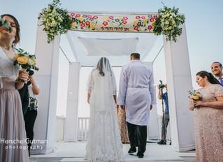 Spring Wedding in the Hills by Jerusalem, Israel