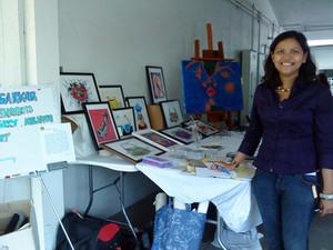 Ananda Mela 2010 | Puja Sarkar | Solo Exhibition of Paintings | California | USA