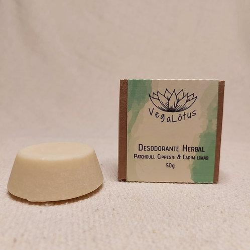 Desodorante Sólido Herbal