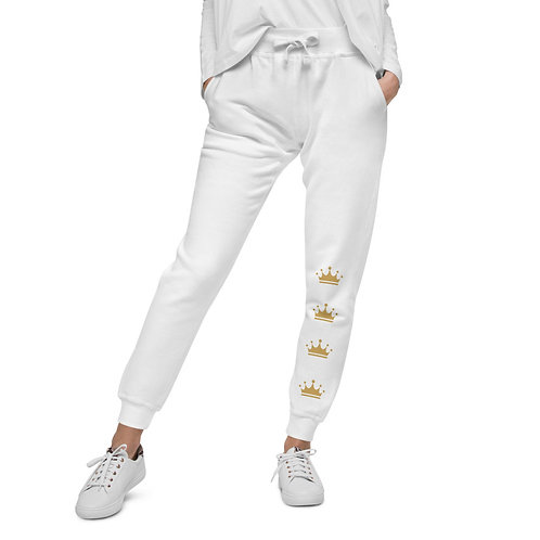 Queen Empire Exclusive Joggers (WHITE)