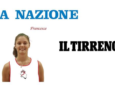 Francesca Parmesani vista dai quotidiani locali