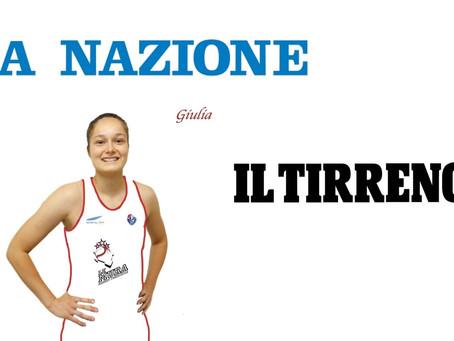 Giulia Natali vista sui quotidiani locali