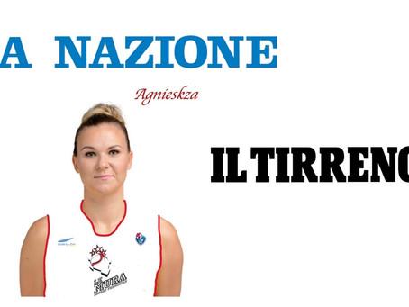 Agnieszka Kaczmarczyk vista dai quotidiani locali