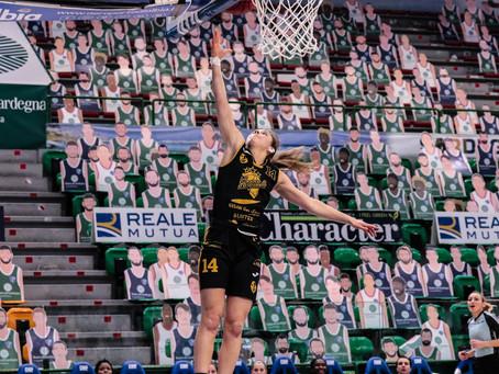 Colpo esterno del Basket Le Mura Lucca sul parquet della Dinamo Sassari 80-91 dopo il supplementare