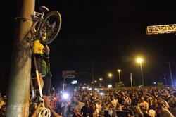 Protesto Ciclistas