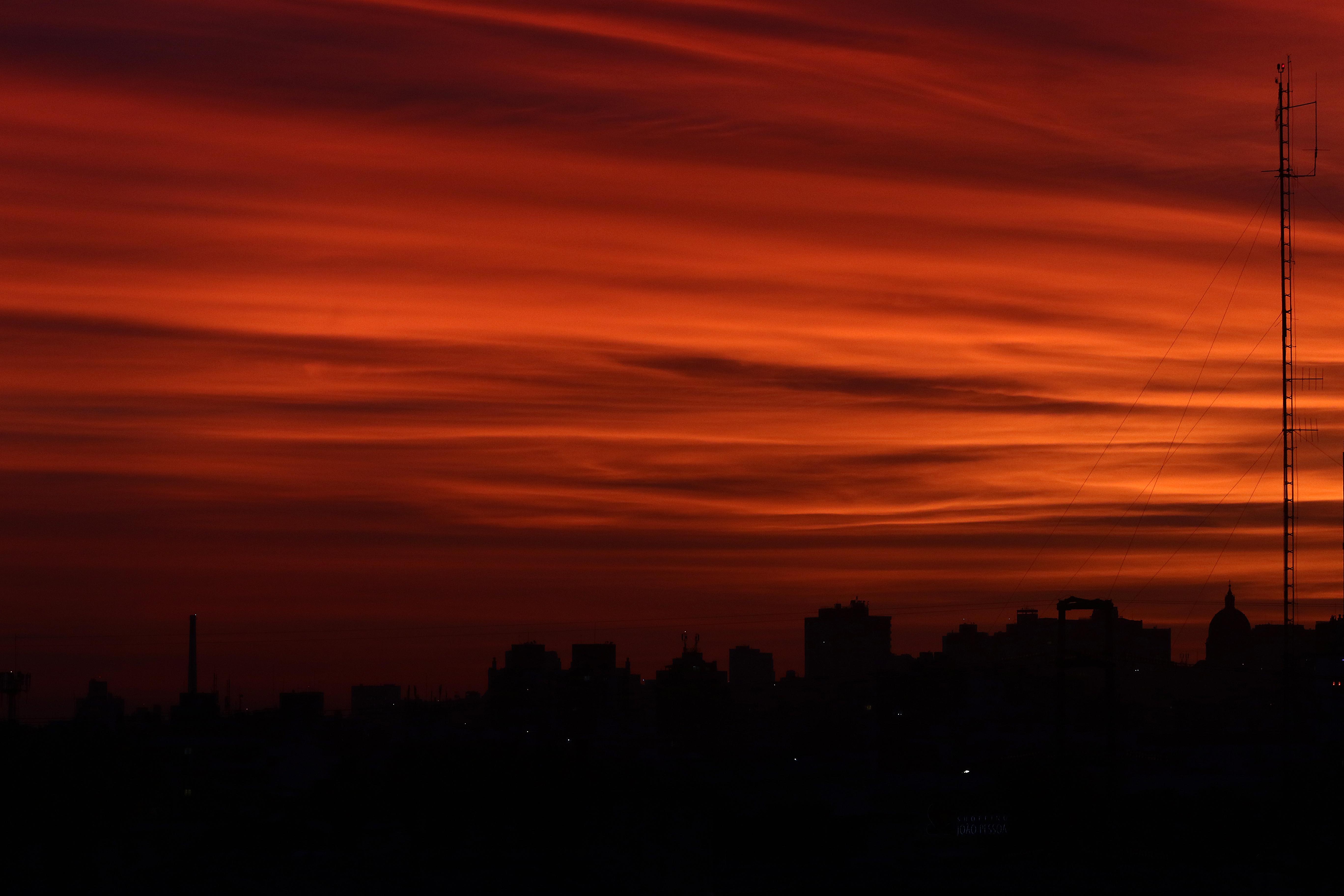 Pôr do Sol em Porto Alegre
