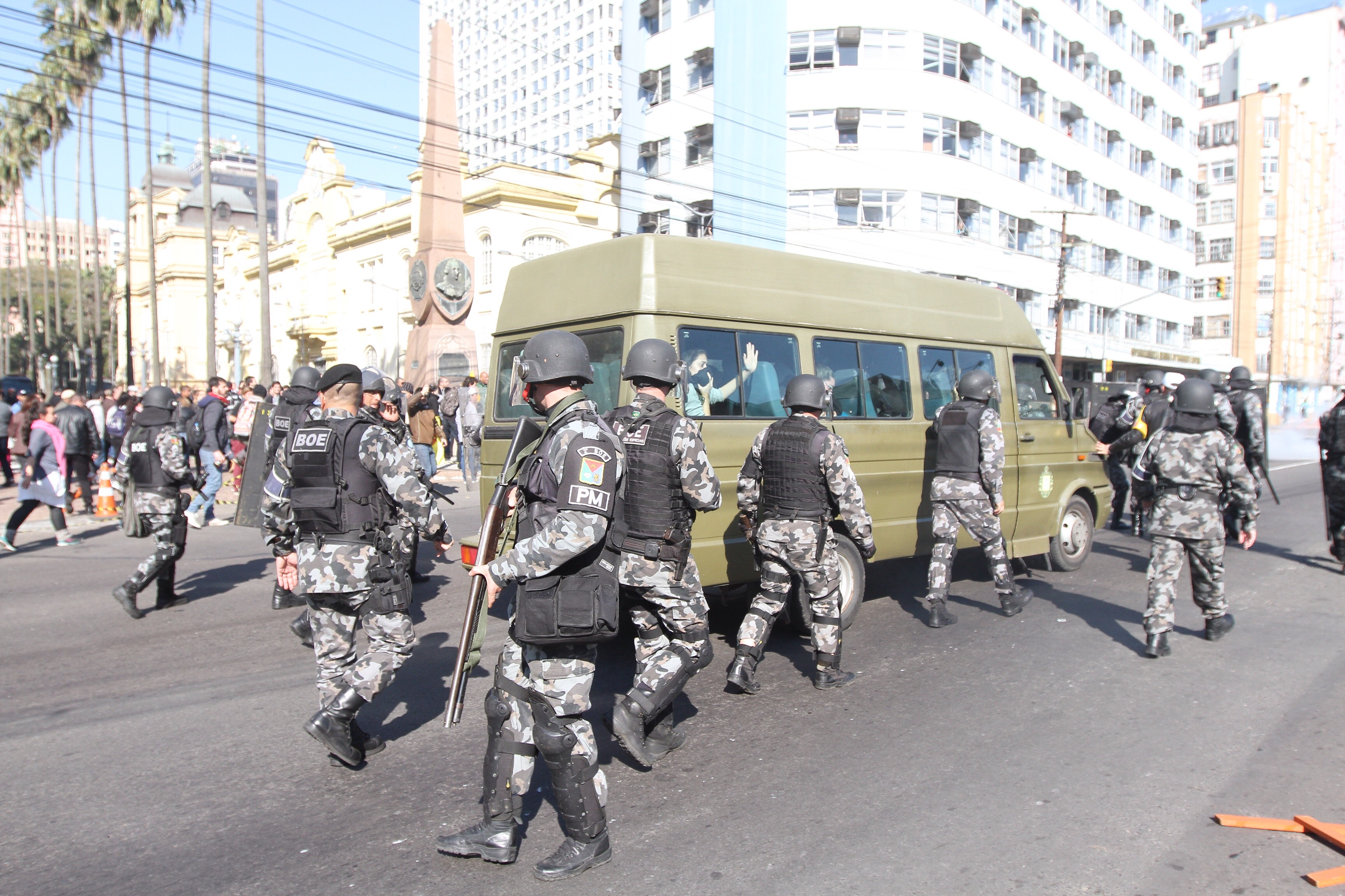 Protesto Estudantes
