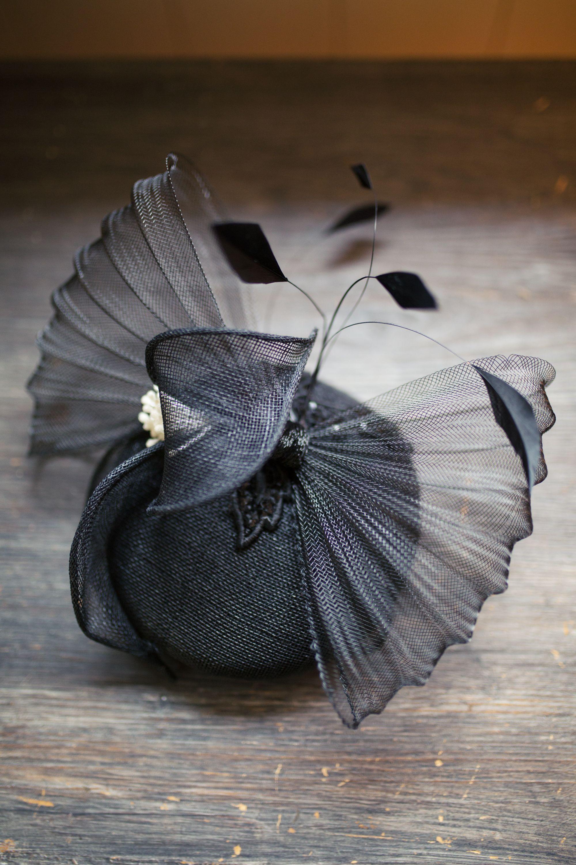 bibi de cocktail noeud et plumes