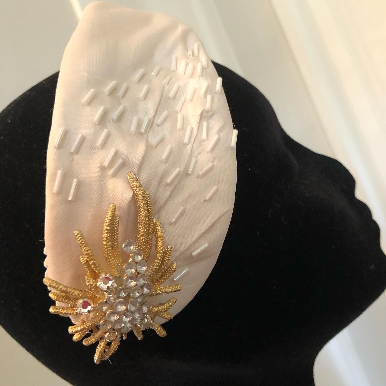 headband-bandeau-turban style années 40 pour mariées