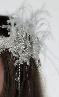 headband perlée année 20