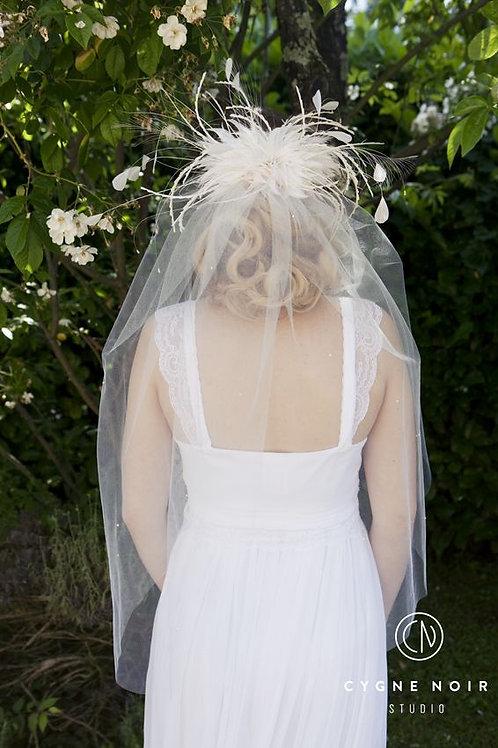 voile de mariée, voile de cérémonie laïque,