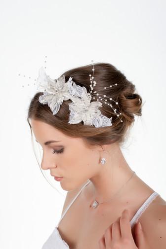 couronne de mariage de fleurs délicate