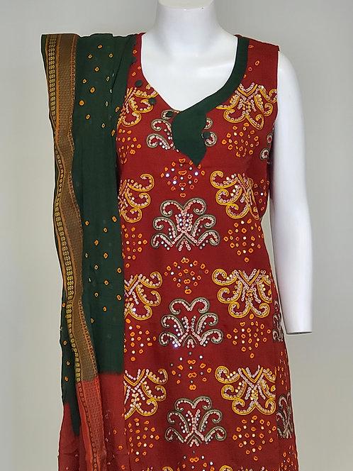 Bandhej Suit / Dress