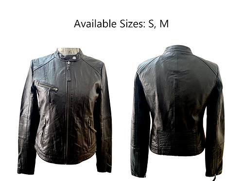 cheap leather jacket for women