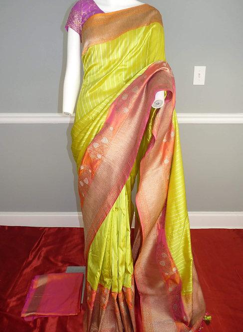 Banarasi Handwoven Pure Katan Silk