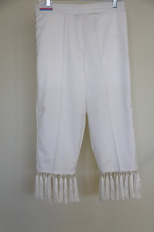 Pants with tassel
