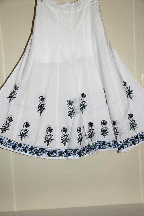 Cotton Skirt Plazzo / Bottoms