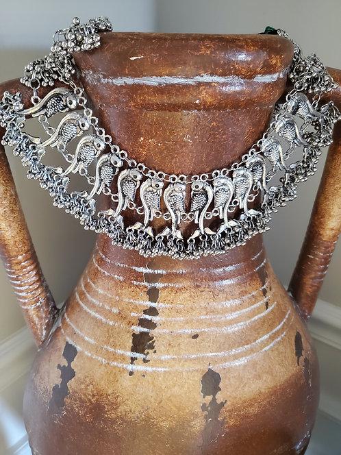 German Silver Necklace set / Choker